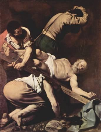 《聖彼得受難》/ Michelangelo Merisi da Caravaggio。