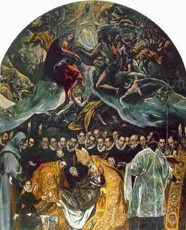 《奧爾加斯伯爵的葬禮》, El Greco。