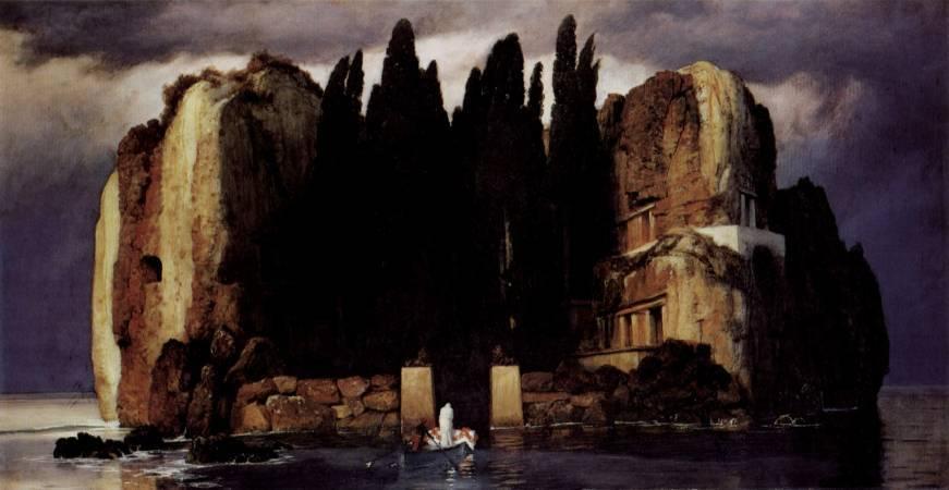 《死之島》, Arnold Böcklin。