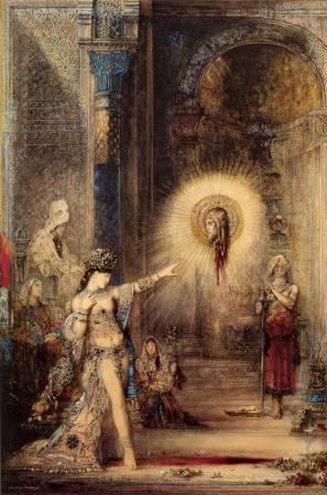 《顯靈》, Gustave Moreau。