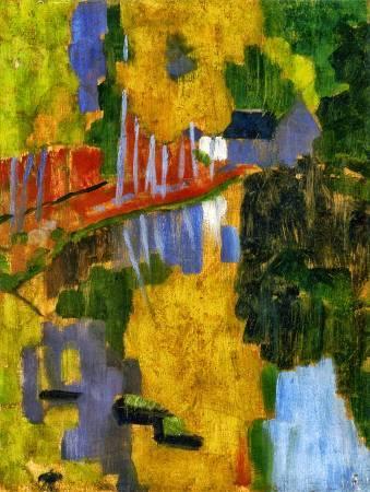 《愛之林風景》, Paul Sérusier。