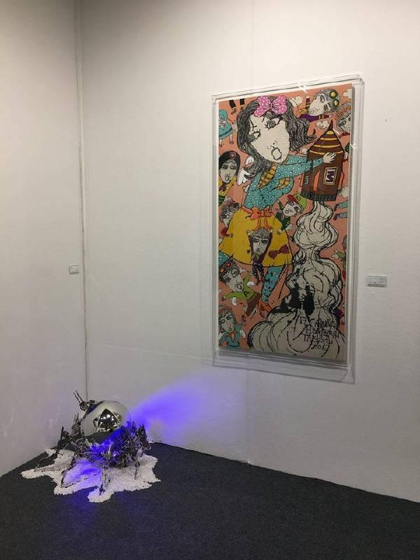 KIAF 芳草地畫廊 展位現場