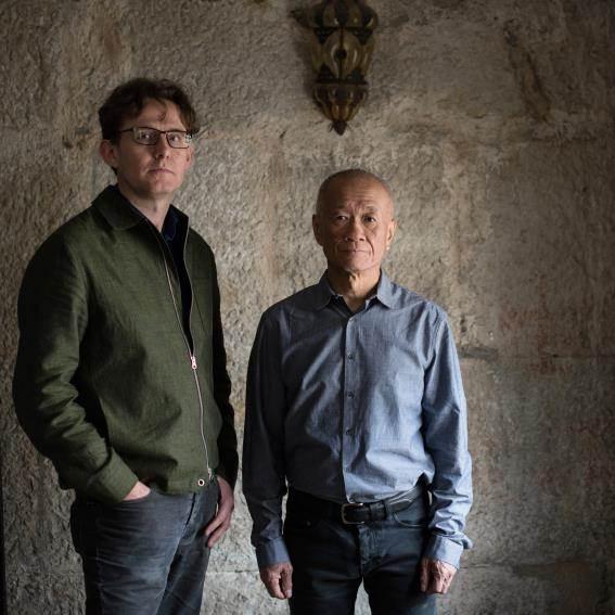 藝術家謝德慶及客座策展人亞德里安.希斯菲爾
