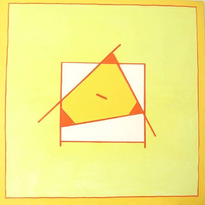 霍剛  無題  油彩畫布  100x100cm
