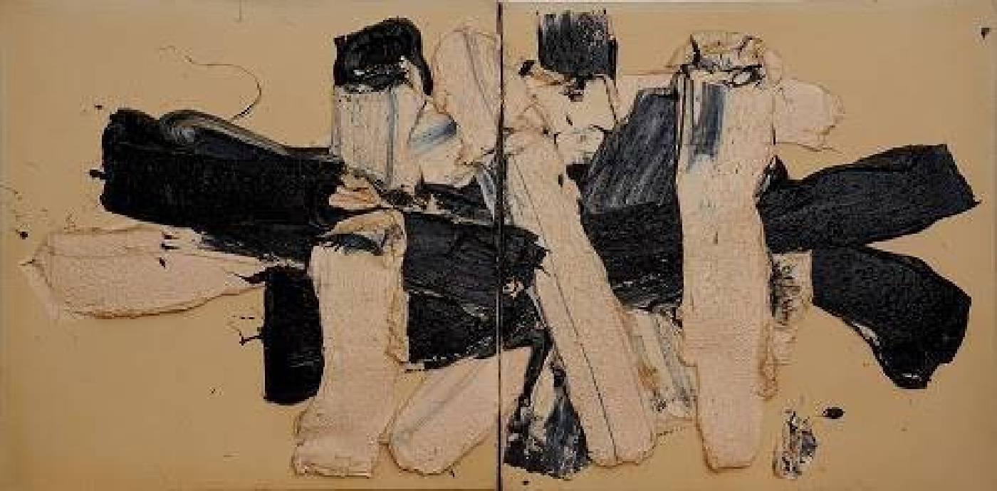 《黑白一》,1990年
