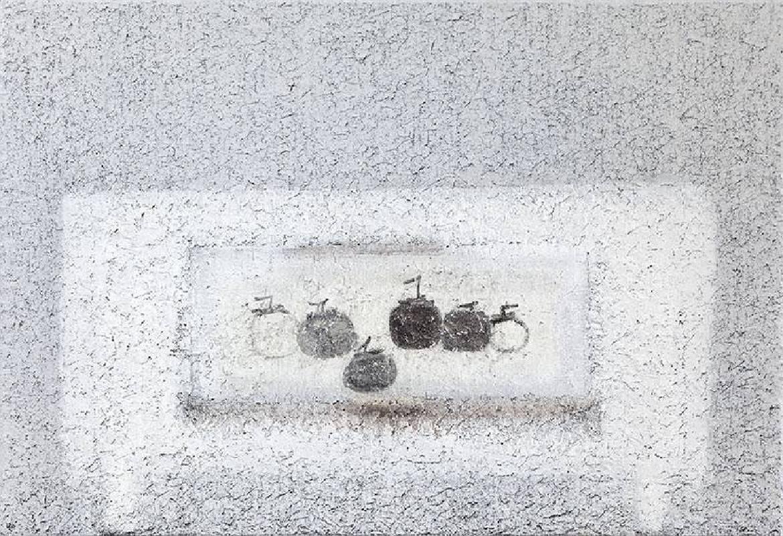 劉安民,《桌與牧谿》,2015