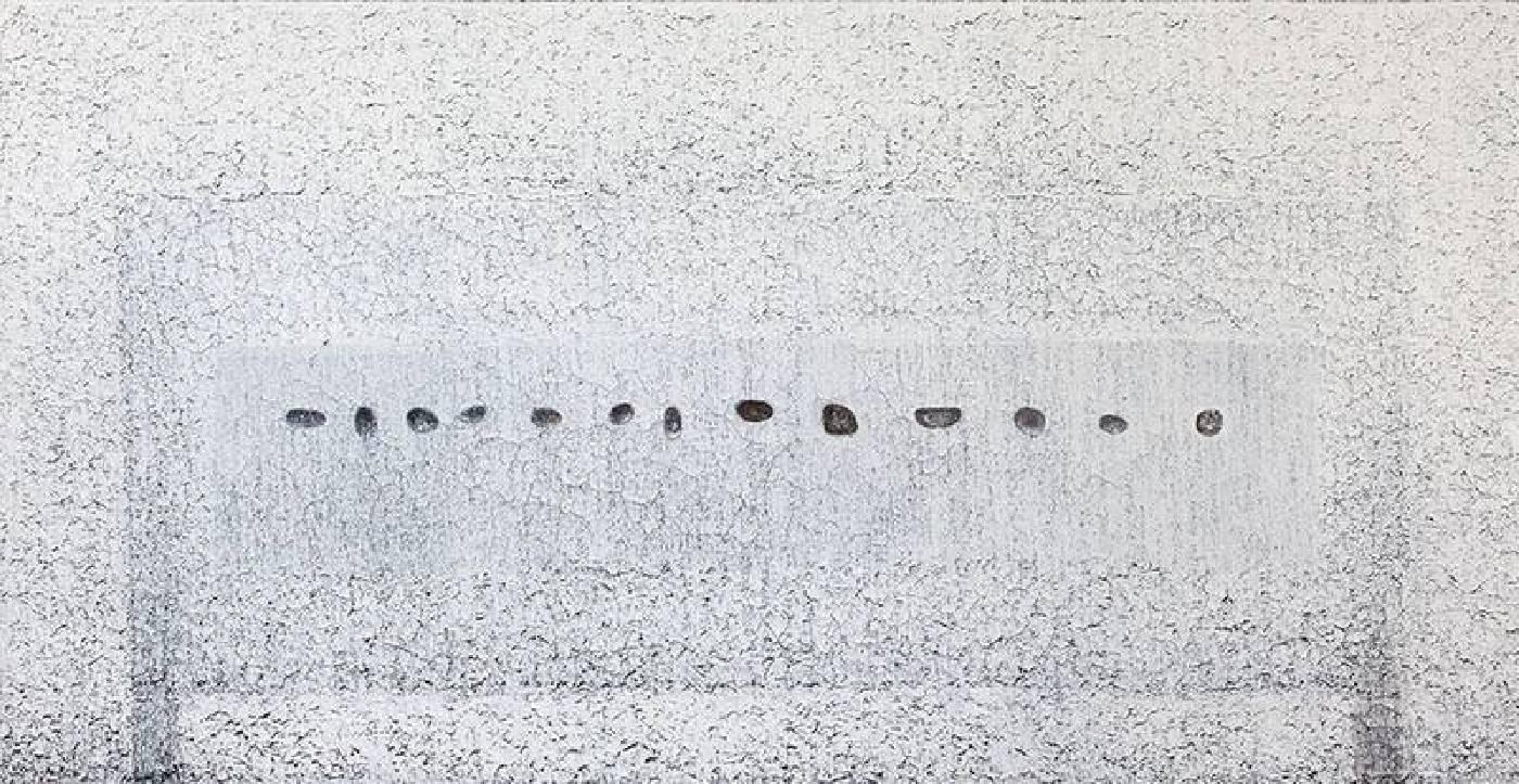 劉安民,《桌上的十三顆石頭》,2015