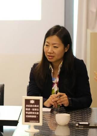 創拓國際法律事務所律師楊芝青。圖/非池中藝術網攝。