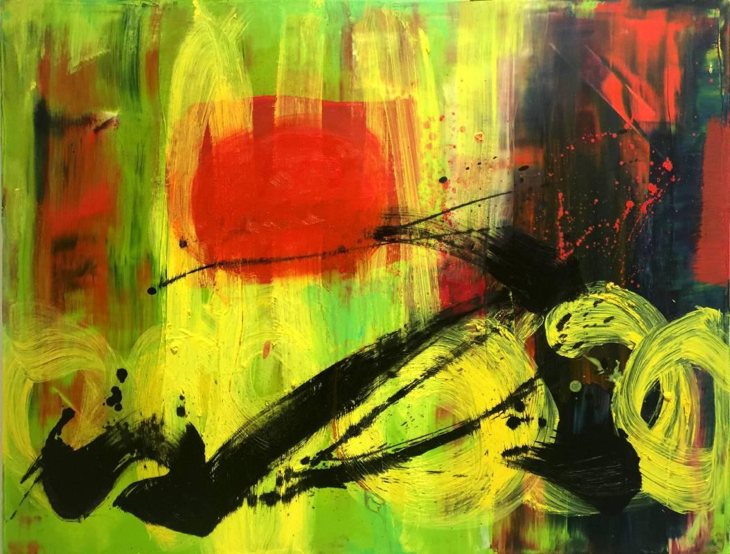 2014 生命之愛 90X116cm (50F) 油畫