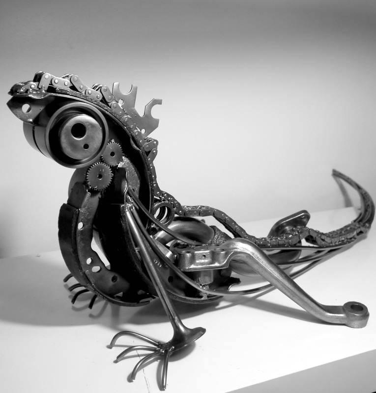 藝術家:Pascal Bejeannin 作品名稱:Iguana-1
