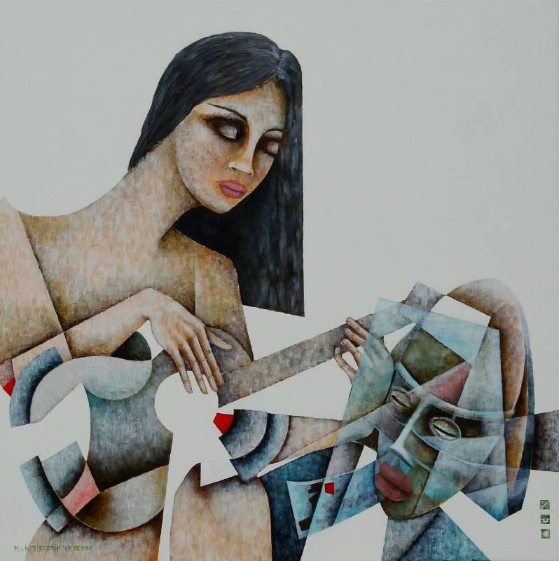 藝術家:Peter Richard Winkelaar 作品名稱:音樂的魔力3