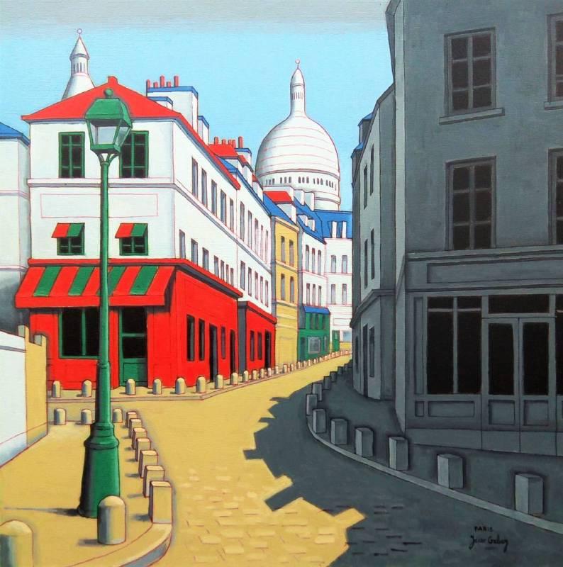 藝術家:Yacov Gabay 作品名稱:巴黎蒙馬特