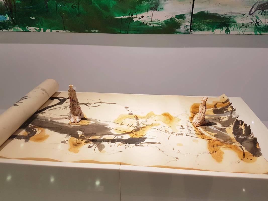 中友時尚藝廊展出作品-「旅行文件」系列雕塑作品