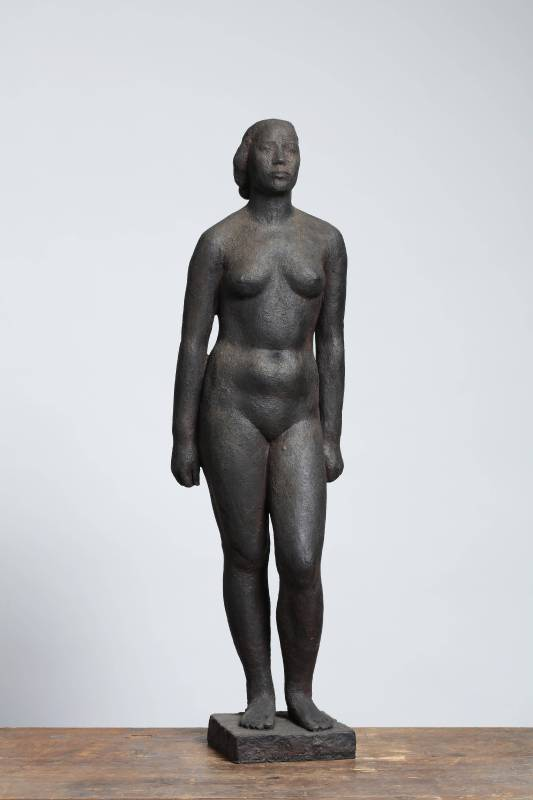 陳夏雨 裸女立姿 58x16.5x10.5cm 銅(ed. 3/6) 1945