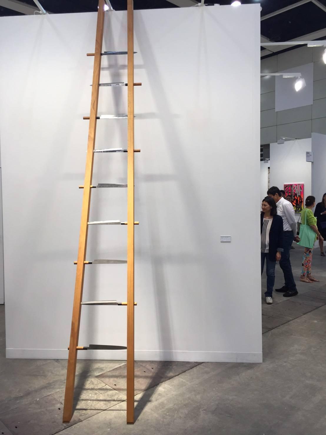 尚凱利Marina Abramovic作品Ladder
