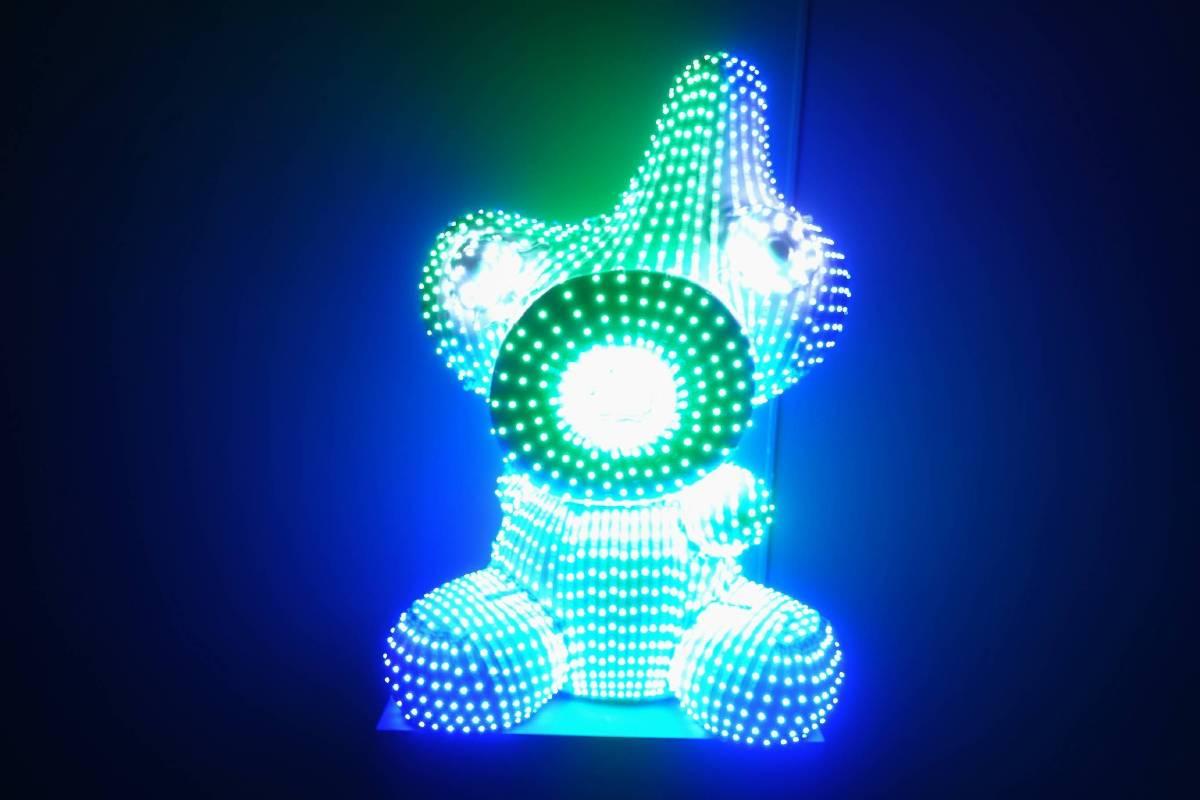 光點蛋寶寶LED Eggy Boy_玻璃纖維, LED, 感應器, FRP, LED Sensors_90x70x40cm_2017