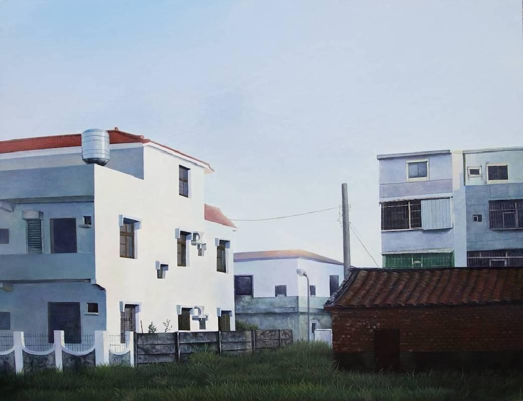 楊奕軒〈我家旁邊的風景#3〉2015.72.5×91cm.壓克力畫布