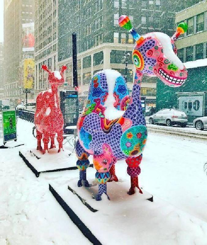 紐約地景環境裝置/洪易|駱駝