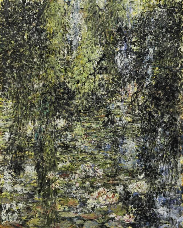 周錫瑋 《蓮出柳影》 2017  162×130 cm