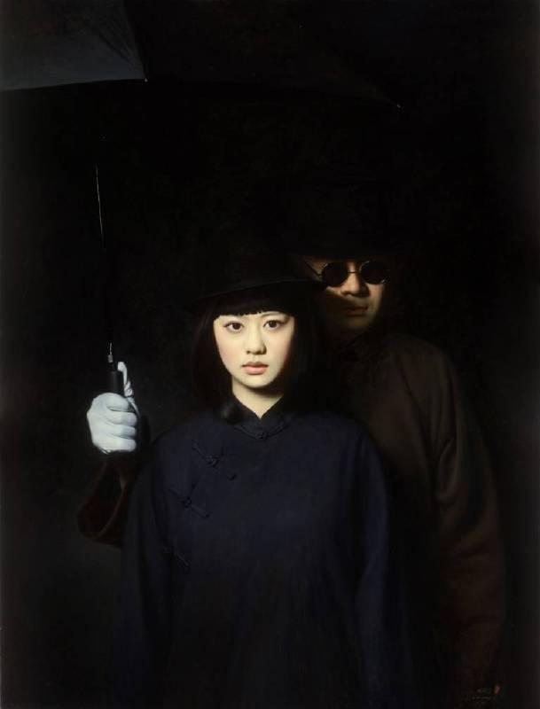 《大民國-遙夢幽蘭》170×130CM  2013  Oil on Canvas