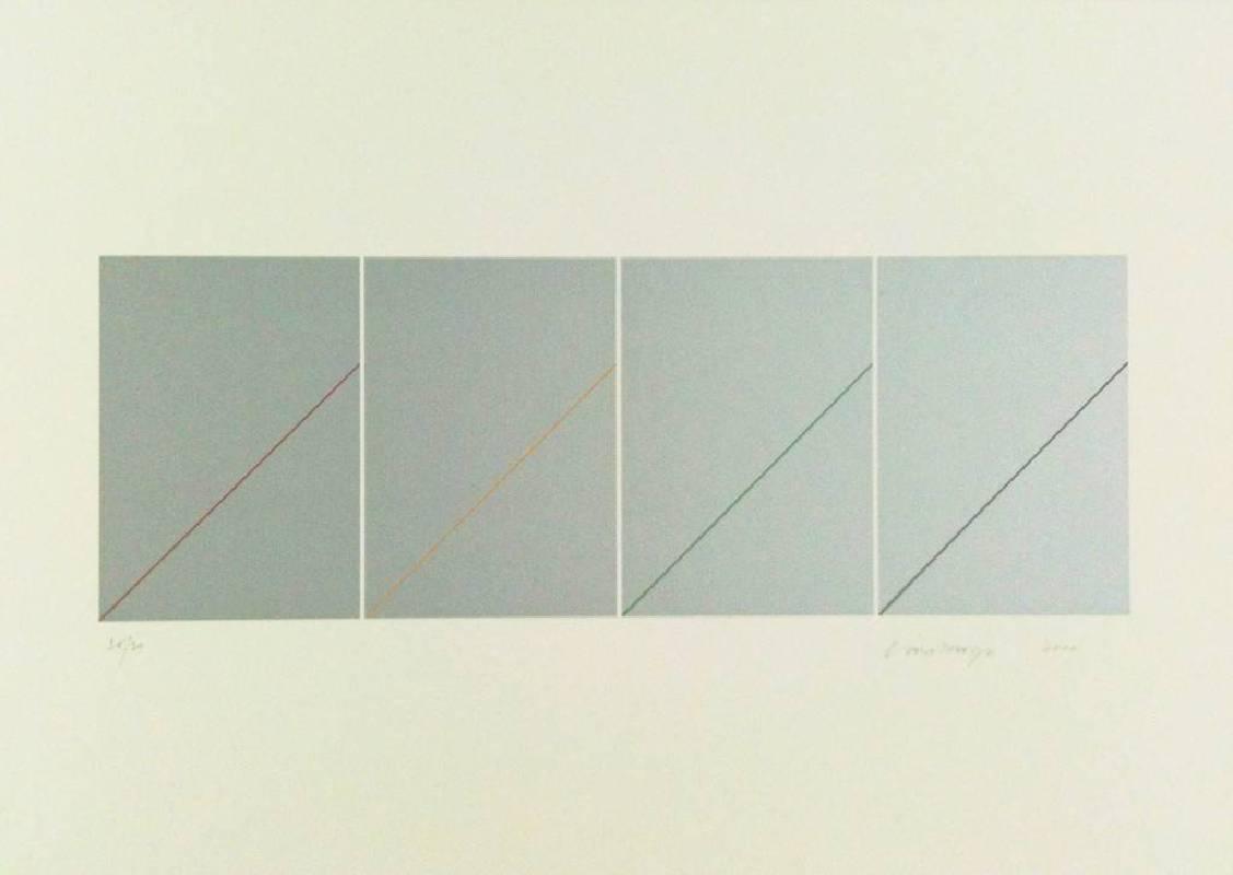 林壽宇 無題 108x78 cm 版畫 2011
