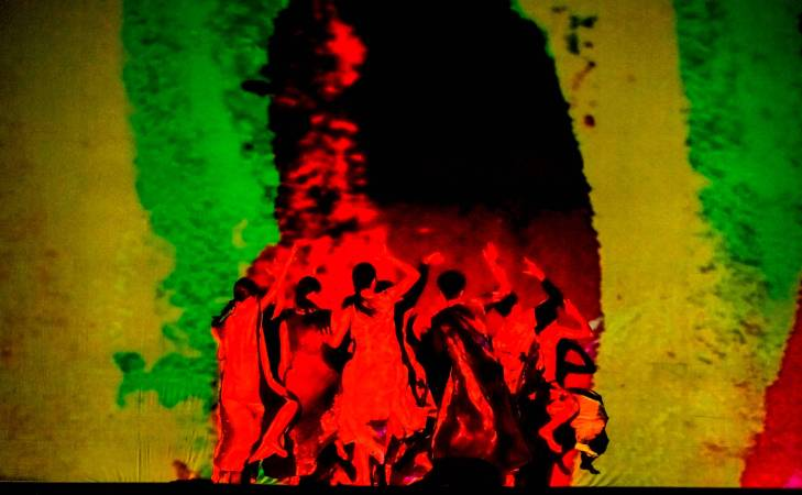 雲門2《十三聲》。攝影/劉振祥。
