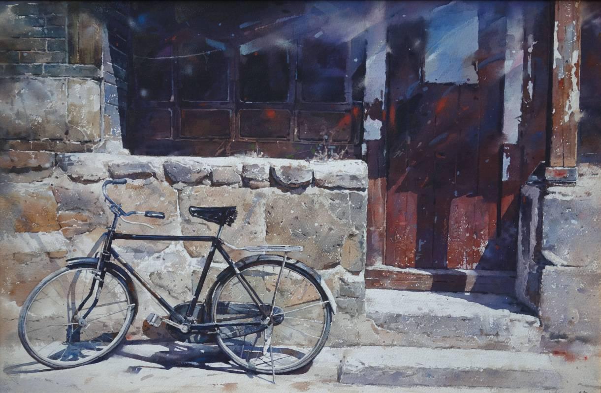 謝明錩 鄉土懷舊系列 74x48cm 1992