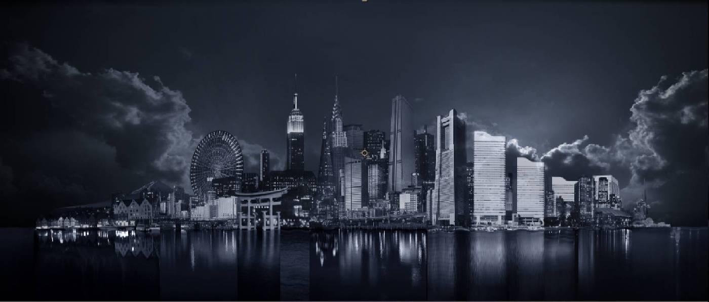 張徐展,截景島系列作品,2011,數位動畫