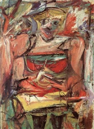 Woman V, 1952-53