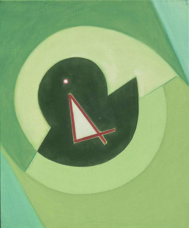 霍剛  心象之1 60.5x50cm 油彩、畫布 2013