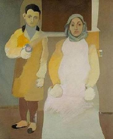 《藝術家和他的母親》 (The Artist and His Mother, 1926-1936)