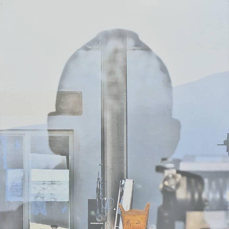 韓湘寧_大理陽光自畫像-2_80 x 80 cm _微噴於畫布_2017