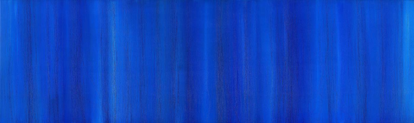 Jo Hsieh None-Space S1  77x254cm  2013  複合媒材、畫布