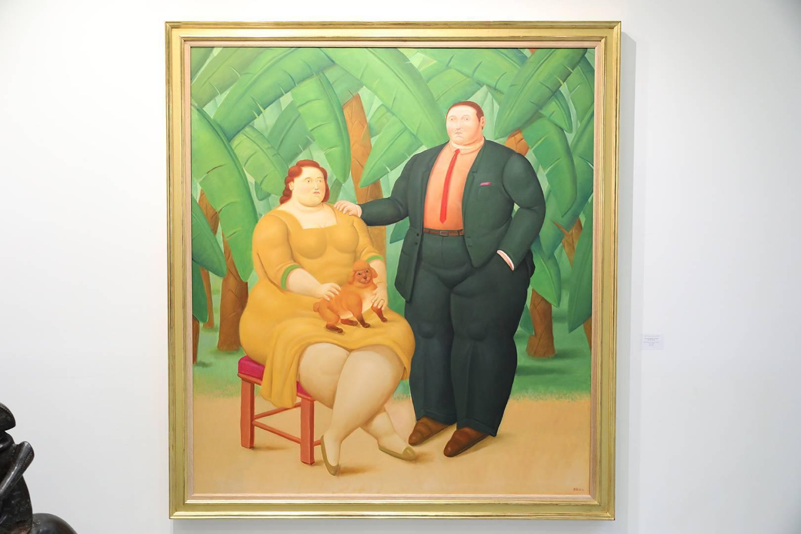 費爾南多‧波特羅〈Man and Woman in Banana Plantation〉
