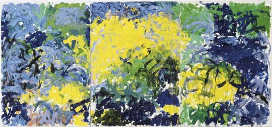 米謝爾《過了一會兒》(La Grande Vallee XIV [For a Little While]),1978。