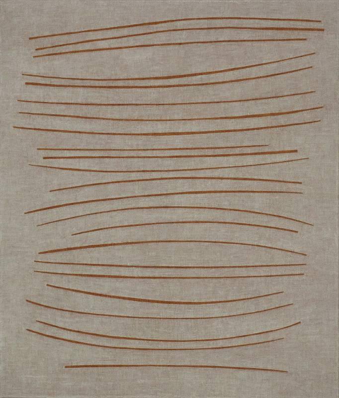 王董碩 墜落的片段 53 x 45.5 cm 油彩,畫布 2017