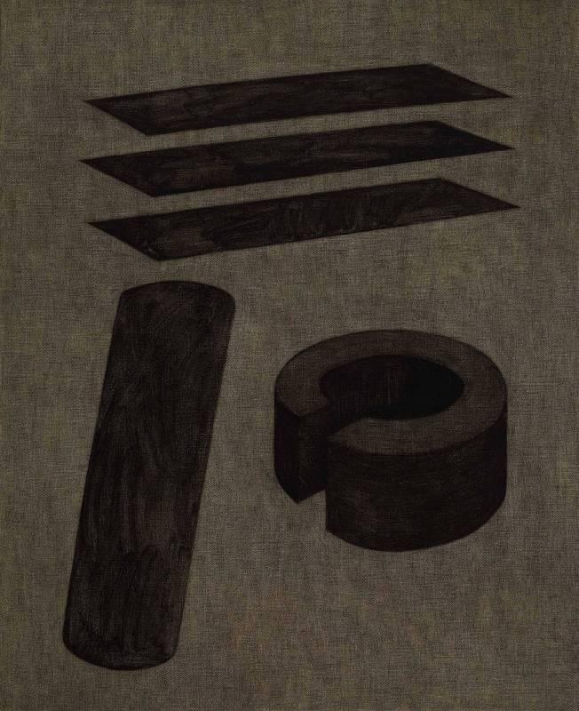 王董碩 方法 65 x 53 cm 油彩,畫布 2017