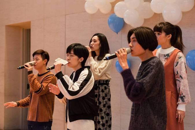 尋人啟事人聲樂團,將在23日下午於台北東區龍門廣場呈現美妙合聲。圖/台新圓環音樂祭提供。