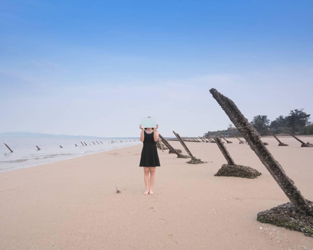 Guningtou Beach 古寧頭沙灘|Inkjet Print 藝術微噴、相紙輸出|104.2x83.3cm|2016