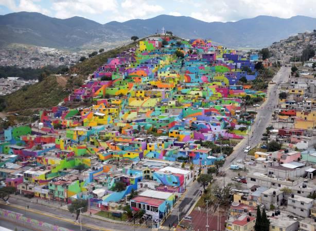 El Macro Mural Barrio de Palmitas,圖/取自flickr