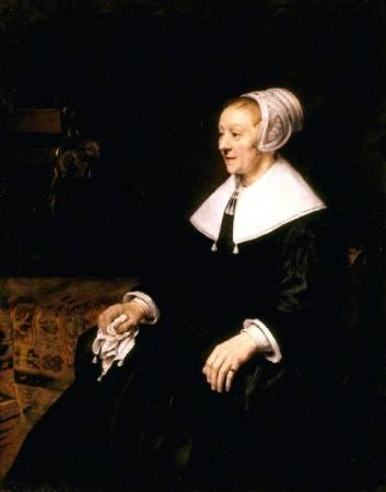 林布蘭,《卡特琳娜肖像》。圖/取自Art UK