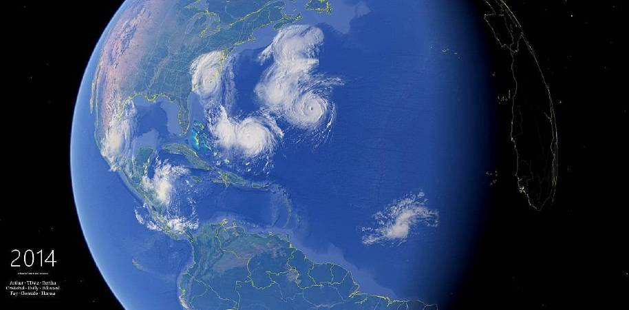 https://commons.wikimedia.org/wiki/File:2014_Atlantic_hurricane_season_Google_Earth_montage_(17554109300).jpg