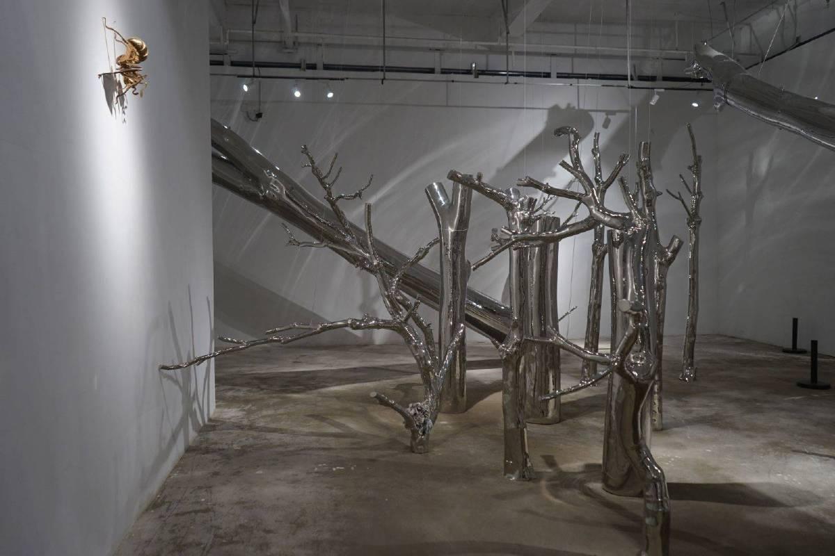 陳志光 樹非木  2016-2017 不鏽鋼