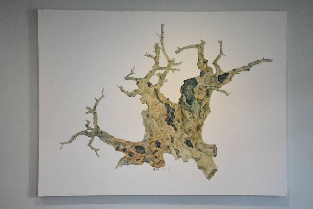 樹影 No.6 150x200cm 2017 油彩、畫布