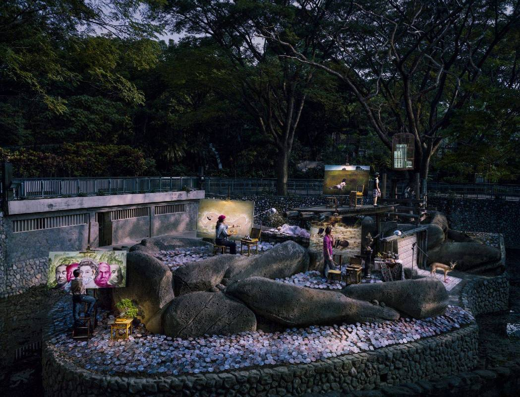 人的莊園 No.05 純棉無酸相片紙 110x144.37cm 2014