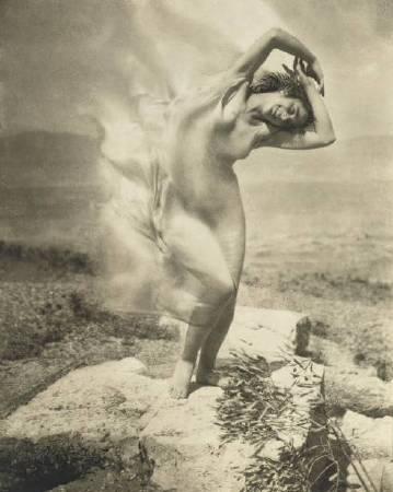 Edward Steichen, Wind Fire。圖/取自Wikipedia。