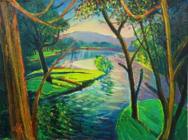 林顯模《生命之春 》,1992。圖/取自非池中藝術據點。