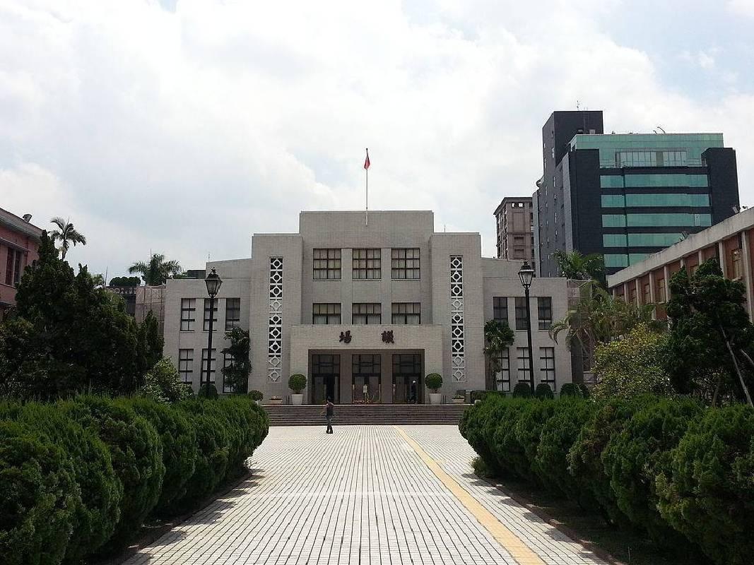 立法院議場正門