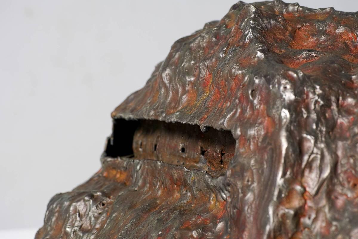 《鐵扇公主的城堡》 不鏽鋼,2014
