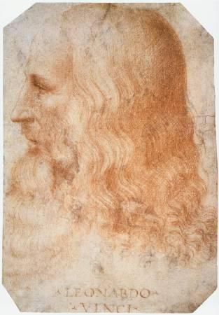 Francesco Melzi《達文西肖像》。圖/取自Wikipedia。